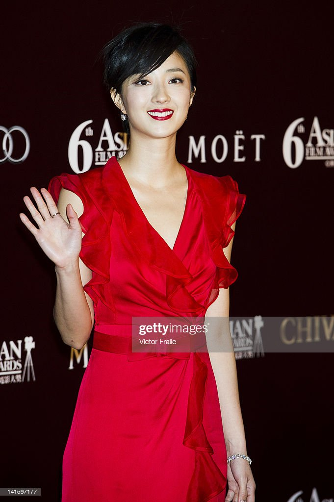 Taiwan actress Kwai Lun-mei poses at the red carpet during the 6th Asian Film Awards, celebrating excellence in cinema, at Hong Kong Convention and Exhibition Center on 19 March 2012 in Hong Kong, China The event honours specifically filmmakers achievements in the field of Asian cinema, bringing together the best cinematic talent in Asia.