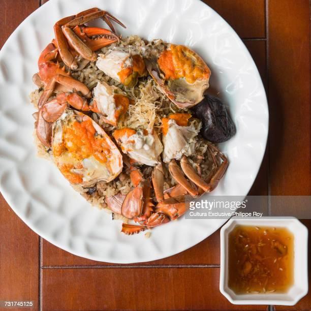 Taiwan crab meal