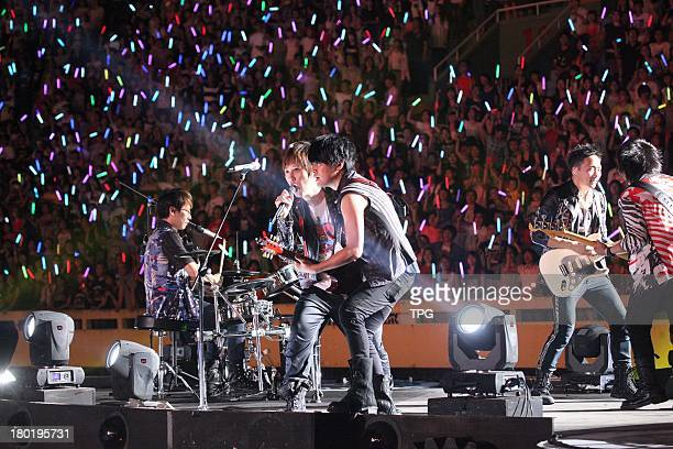 Taiwan pop group May Day hold concert on FridaySeptember 62013 in TaichungChina