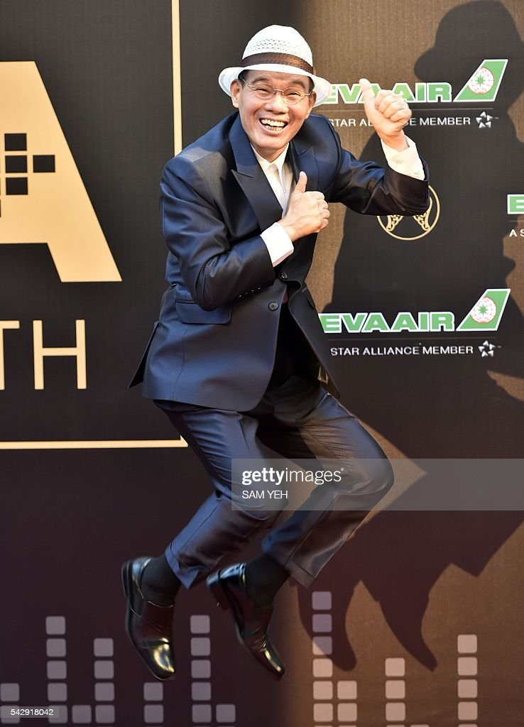 Taiwan singer Chen Lei arrives to attend the 27th Golden Melody Awards in Taipei on June 25, 2016. Some of Mandarin pop's biggest names have gathered for the annual Golden Melody music awards, with singers, songwriters and composers from Taiwan, China, Hong Kong, Singapore and Malaysia competing in more than 20 categories. / AFP / SAM YEH