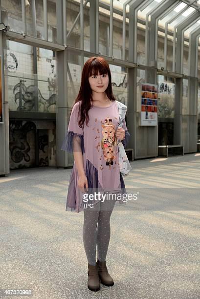 Taiwan Taipei East Zone Huashan street fashion in Taipei Taiwan China on 23th March 2015
