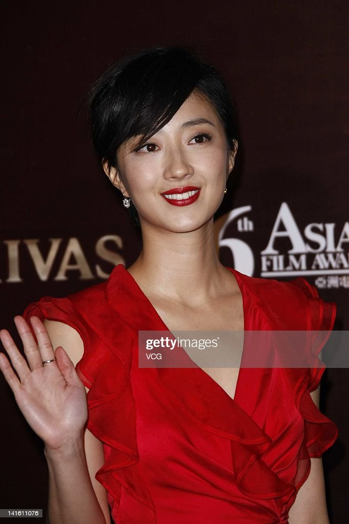 Taiwanese actress Kwai Lun-mei poses at the red carpet during the 6th Asian Film Awards at Hong Kong Convention and Exhibition Center on March 19, 2012 in Hong Kong, Hong Kong.