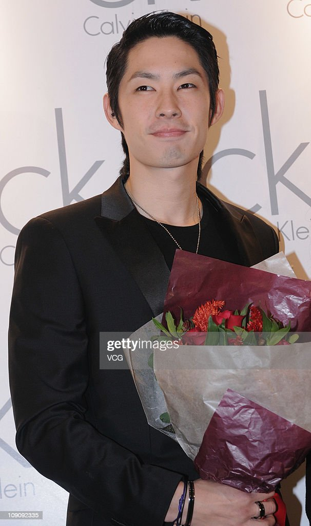 Taiwaness singer and actor Vanness Wu poses for photos while attending a press confrence to promote CK Wrise Watch at No.1 YaoHan Department Store on February 14, 2011 in Shanghai, China.