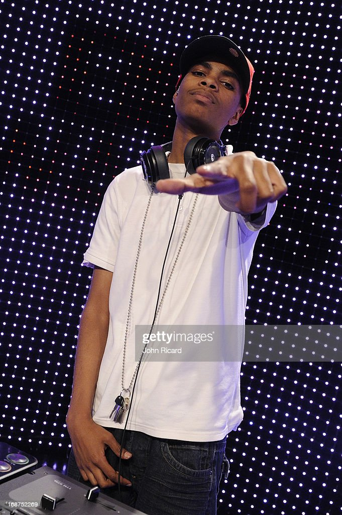 DJ Taj at 106 & Park Studio on May 14, 2013 in New York City.