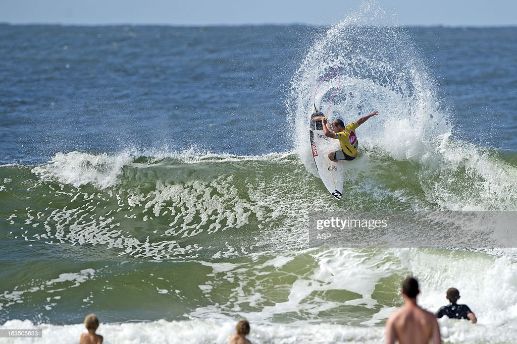 Taj Burrow of Australia in action during the Quiksilver Pro on March 11, 2013 in Gold Coast, Australia.