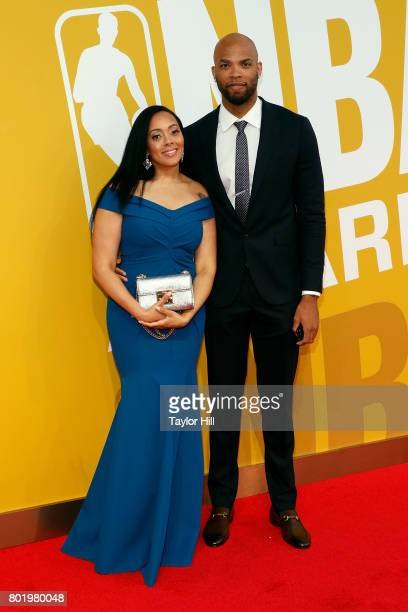 Taj Gibson attends the 2017 NBA Awards at Basketball City Pier 36 South Street on June 26 2017 in New York City