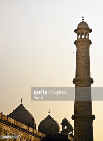 Taj Mahal Agra India : Foto de stock