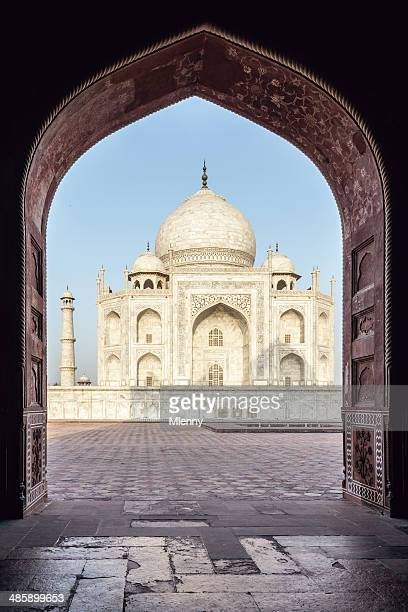 Taj Mahal at Sunrise Agra, India
