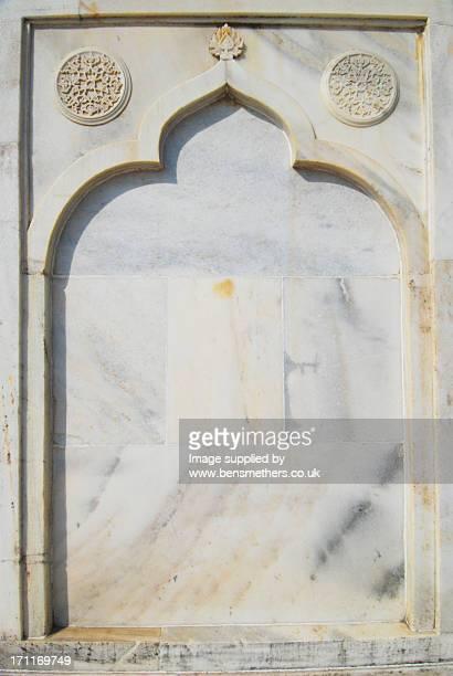 Taj Mahal exterior decoration