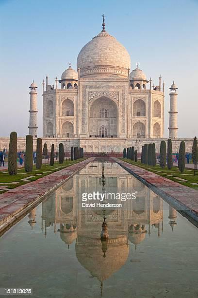 Taj Mahal facade