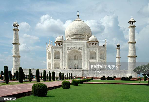 Taj Mahal from Lawn