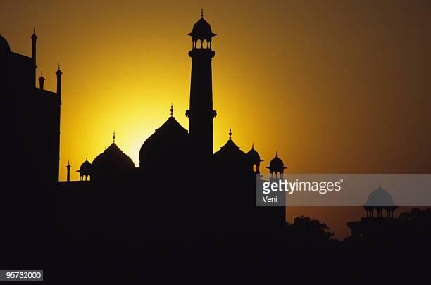 Halo Taj Mahal, Agra, Indien