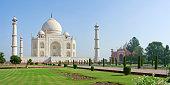 Taj Mahal in Agra, Uttar Pradesh, India