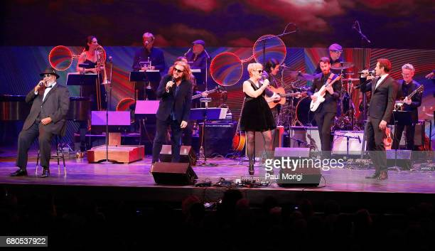 Taj Mahal Jim James Shawn Colvin and David Duchovny perform at the 2017 Kennedy Center Spring Gala Come Together A Celebration of John Lennon at John...