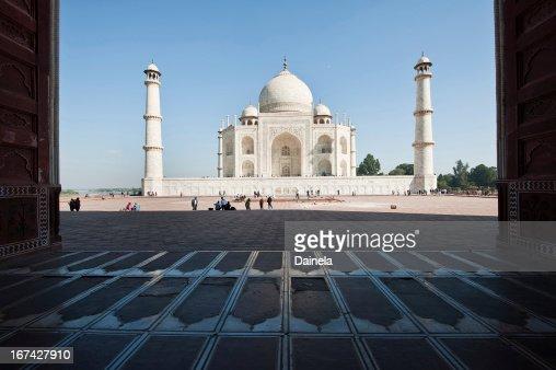 Taj Mahal : Stock Photo