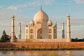 Taj Mahal Delhi at early morning, Agra, Delhi, India