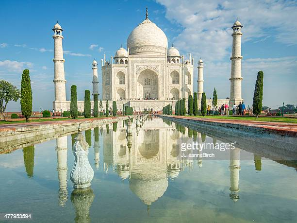 Taj Mahal reflections
