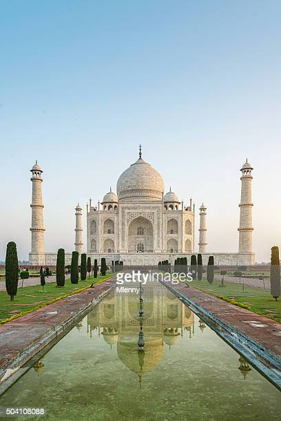 Taj Mahal in Agra Indien-Sunrise