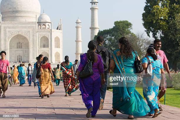 Taj Mahal Tourists