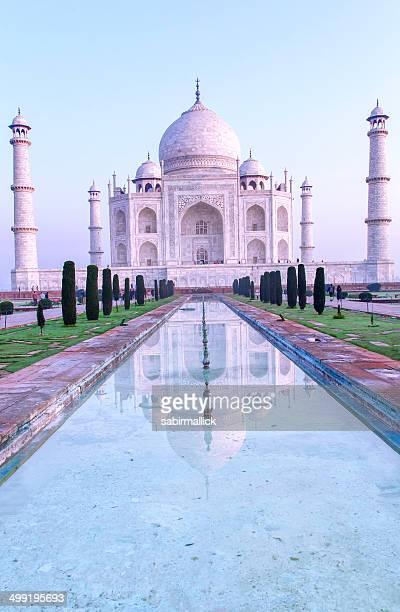 Taj Mahal with reflection, Agra
