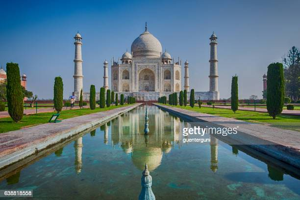 Taj Mahal with reflections, Agra, India, XXL image