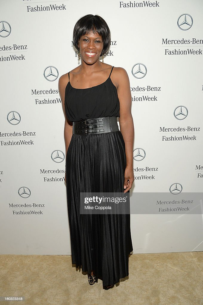 <a gi-track='captionPersonalityLinkClicked' href=/galleries/search?phrase=Taj+McWilliams-Franklin&family=editorial&specificpeople=213186 ng-click='$event.stopPropagation()'>Taj McWilliams-Franklin</a> attends the Mercedes-Benz Star Lounge during Mercedes-Benz Fashion Week Spring 2014 on September 11, 2013 in New York City.