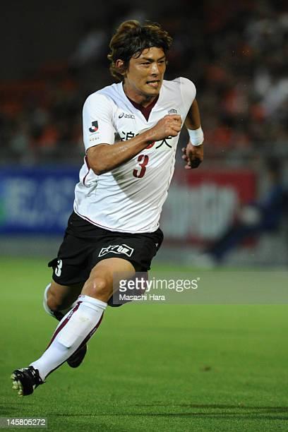 Takahito Soma of Vissel Kobe in action during the JLeague Yamazaki Nabisco Cup Group B match between Omiya Ardija and Vissel Kobe at Nack 5 Stadium...