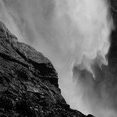 Close-up of Takakkaw Falls from Yoho National Park.