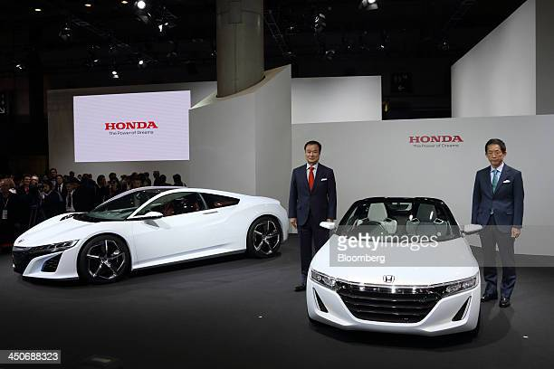 Sho minekawa stock photos and pictures getty images for Honda motor company stock