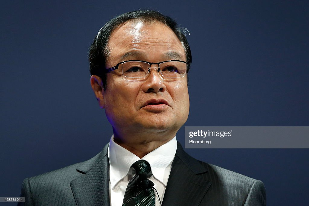 <a gi-track='captionPersonalityLinkClicked' href=/galleries/search?phrase=Takanobu+Ito&family=editorial&specificpeople=5696906 ng-click='$event.stopPropagation()'>Takanobu Ito</a>, president and chief executive officer of Honda Motor Co., speaks during the launch event of the companys new Legend hybrid sedan in Tokyo, Japan, on Monday, Nov. 10, 2014. Honda last week cited the weak yen for improved quarterly results, though they left their full-year forecasts unchanged. Photographer: Kiyoshi Ota/Bloomberg via Getty Images