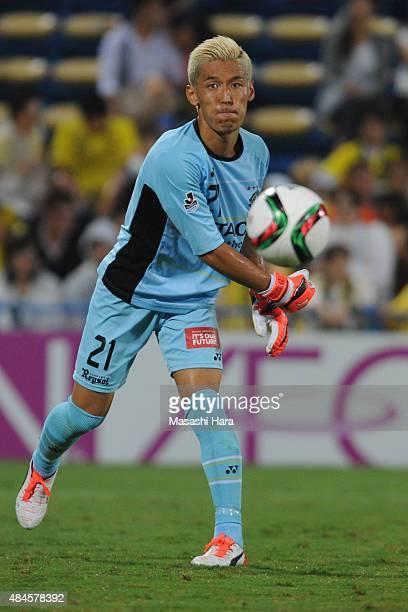 Takanori Sugeno of Kashiwa Reysol in action during the JLeague match between Kashiwa Reysol and Matsumoto Yamaga at Hitachi Kashiwa Soccer Stadium on...