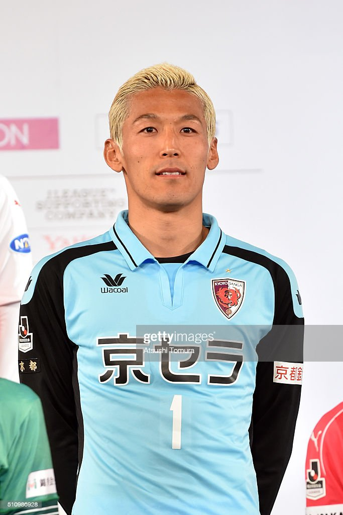 <a gi-track='captionPersonalityLinkClicked' href=/galleries/search?phrase=Takanori+Sugeno&family=editorial&specificpeople=5650990 ng-click='$event.stopPropagation()'>Takanori Sugeno</a> of KYOTO SANGA F.C. attends 2016 J League Press Conference at Grand Prince Hotel Shin Takanawa on February 18, 2016 in Tokyo, Japan.