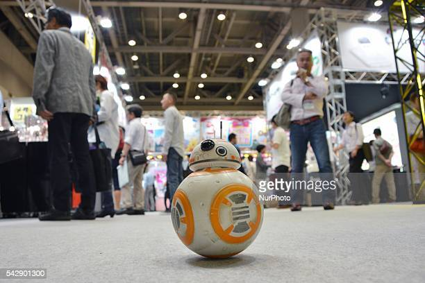 Takara Tomy's remote control quotStar Warsquot BB8 droid is seen at the International Tokyo Toy Show 2016 in Tokyo Japan June 10 2016