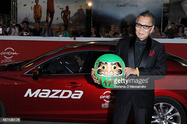 Takashi Miike attends 'As the Gods Will' Red Carpet during The 9th Rome Film Festival at Auditorium Parco Della Musica on October 18 2014 in Rome...