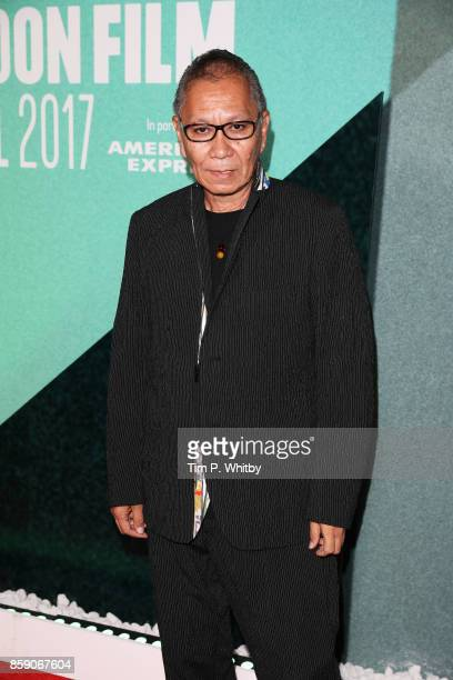 Takashi Miike attends the Thrill Gala UK Premiere of 'Blade Of The Immortal' during the 61st BFI London Film Festival on October 8 2017 in London...