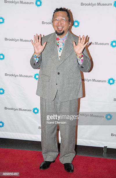Takashi Murakami attends the Brooklyn Artists Ball at Brooklyn Museum on April 15 2015 in New York City