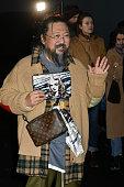 Dior Homme : Outside Arrivals - Paris Fashion Week -...