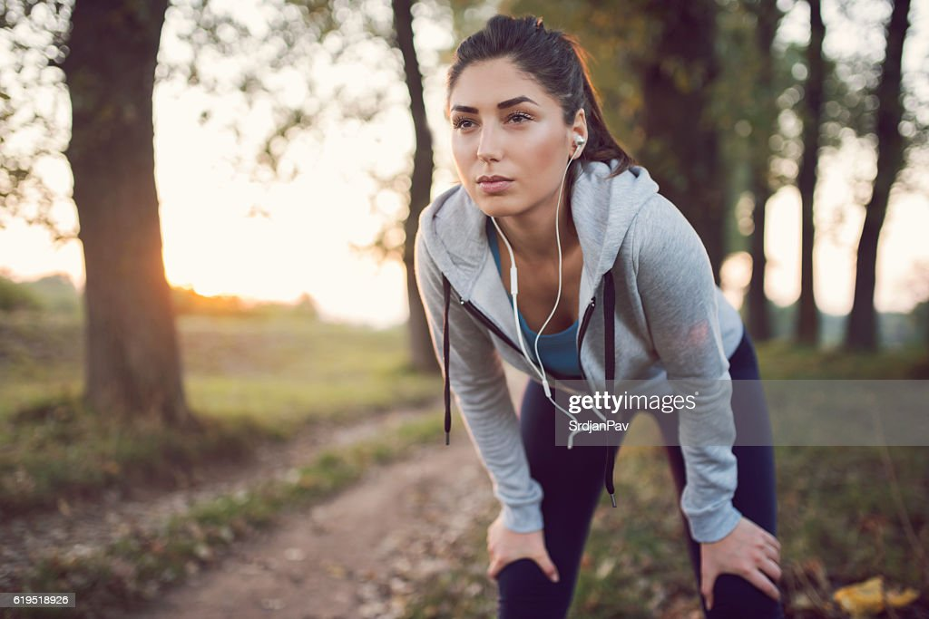 Take a breath and move on! : Stock Photo