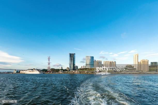 Take a cruise to gulangyu island,xiamen,fujian province,china