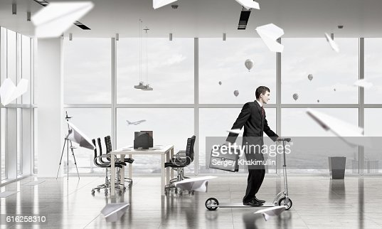 Take a five minute break . Mixed media : Stock Photo