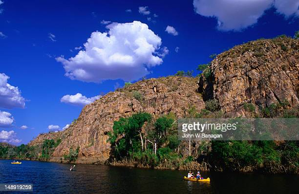 Take a leisurely canoe ride to really appreciate the spectacular Katherine Gorge,  Nitmiluk National Park