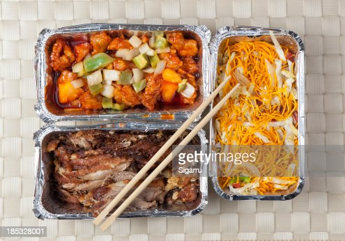 Take away food : Stock Photo