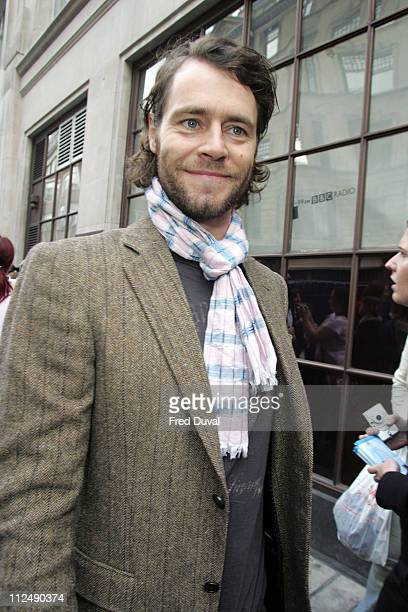 Take That's Howard Donald during Take That Appearance on BBC Radio 1 October 10 2006 at BBC Studios in London Great Britain