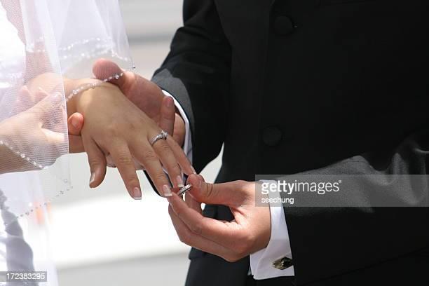 Nehmen Sie den ring und meine Frau zu