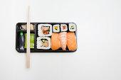 Takeaway sushi