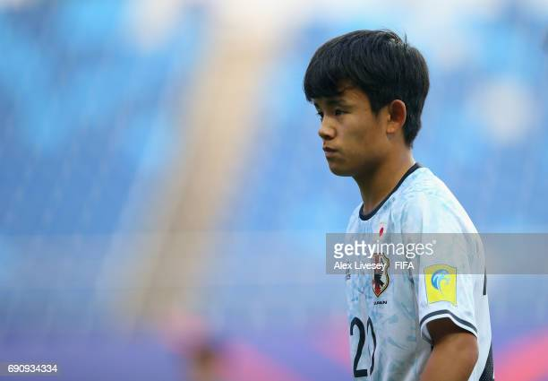 Takefusa Kubo of Japan during the FIFA U20 World Cup Korea Republic 2017 Round of 16 match between Venezuela and Japan at Daejeon World Cup Stadium...
