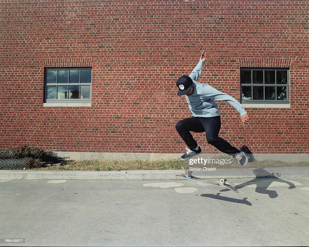 CONTENT] Taken at McCarren Park's skateboard park.