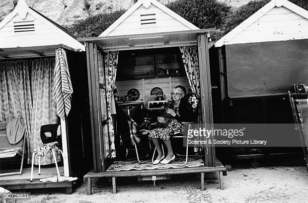 Taken at Scarborough North Yorkshire Photographer Tony RayJones created most of his images of the British at work and leisure between 1966 and 1969...