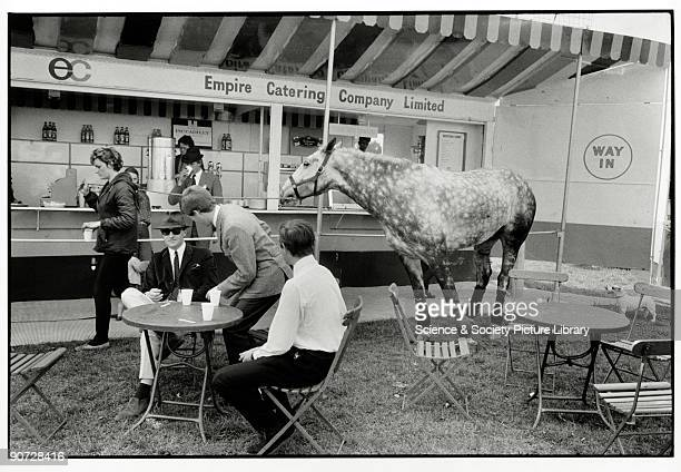 Taken at Windsor Horse Show Berkshire Photographer Tony RayJones created most of his images of the British at work and leisure between 1966 and 1969...