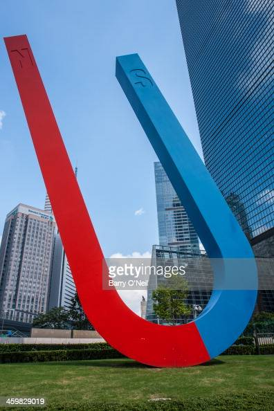 CONTENT] Taken during one of my visits to the Shanghai World Financial Center in the Lujiazui area of Shanghai This sculpture sits to the side of the...